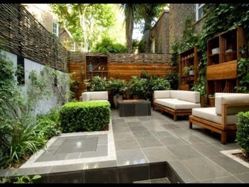 Urban Garden Design Ideas And Pictures Youtube intended for Small ...