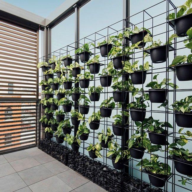 Vertical Garden Screen Indoor Outdoor Green Wall Plant