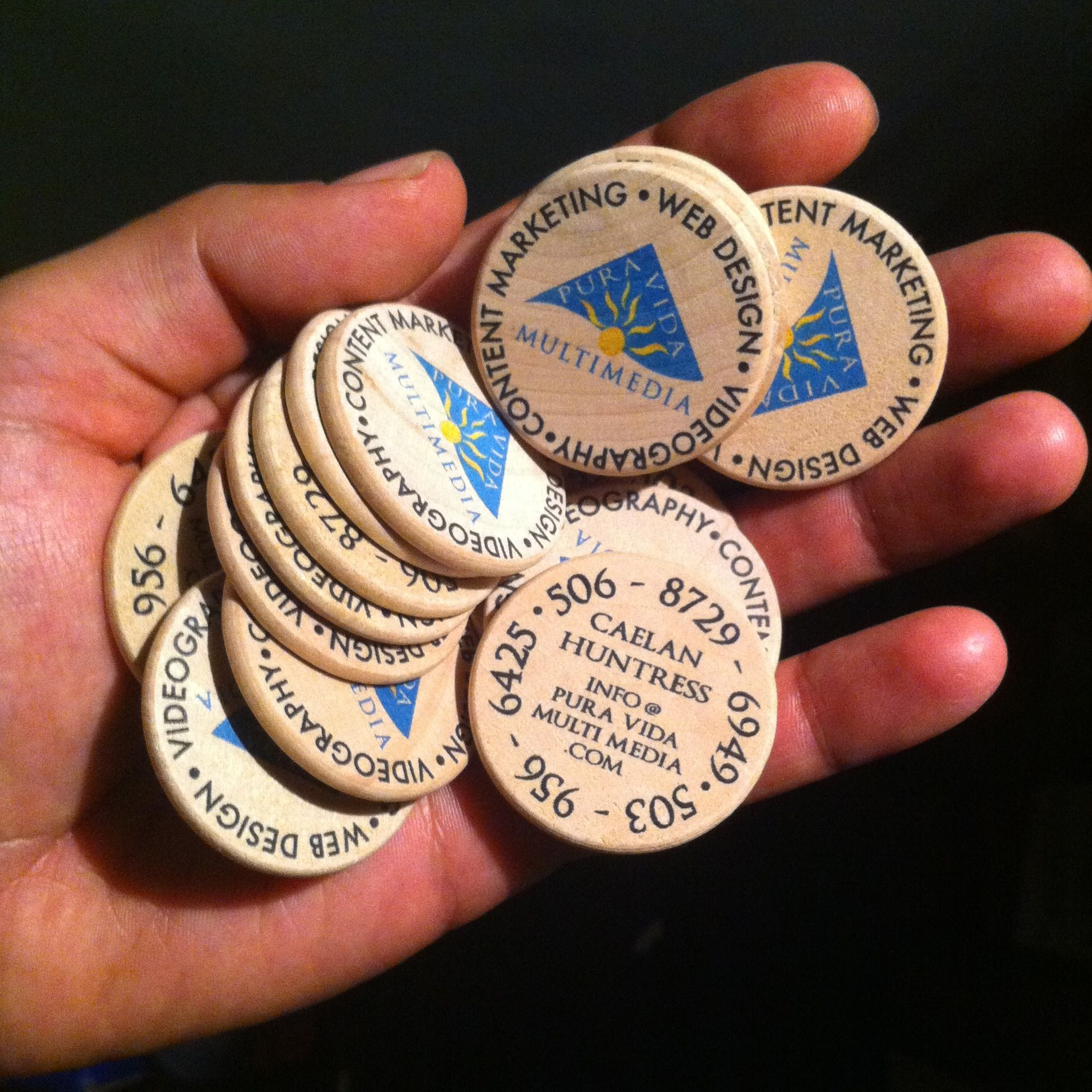 Coin business card best business cards business card coin google search coins and tokens pinterest colourmoves