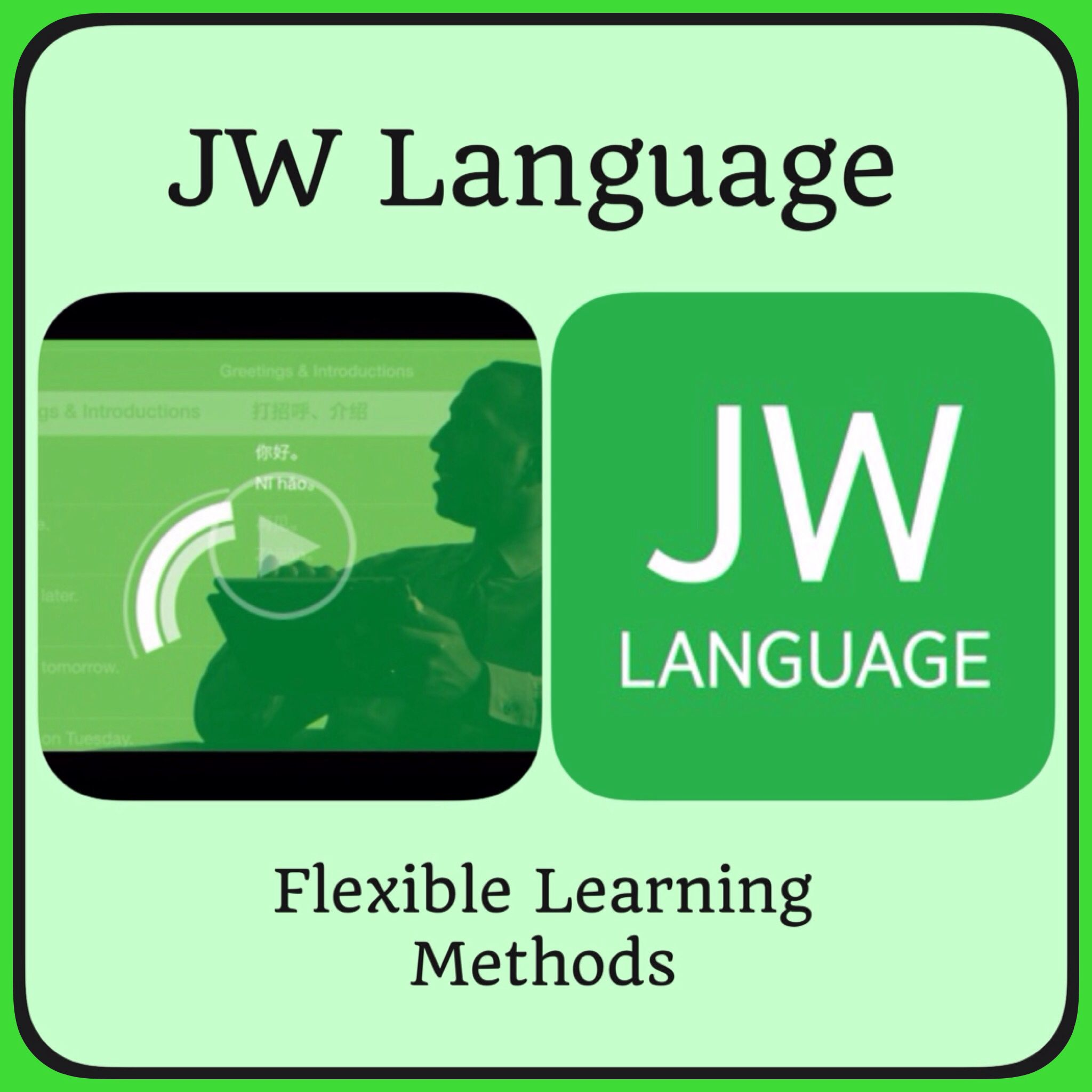JW Language is an official app produced by Jehovah's