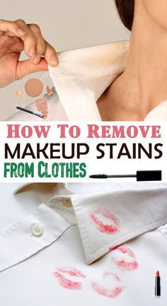 How To Remove Makeup Stains From Clothes Good Know