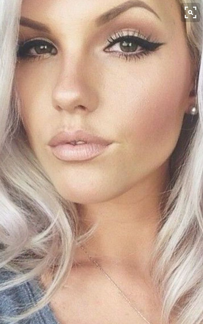 image result for bridal makeup for blue eyes medium blonde