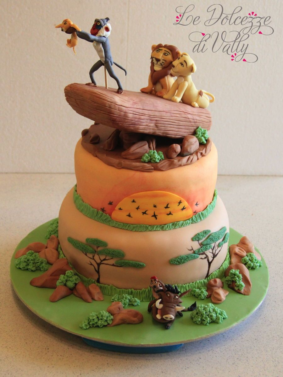 The Lion King  my cakes  Pinterest  Cakes, King cakes and ...
