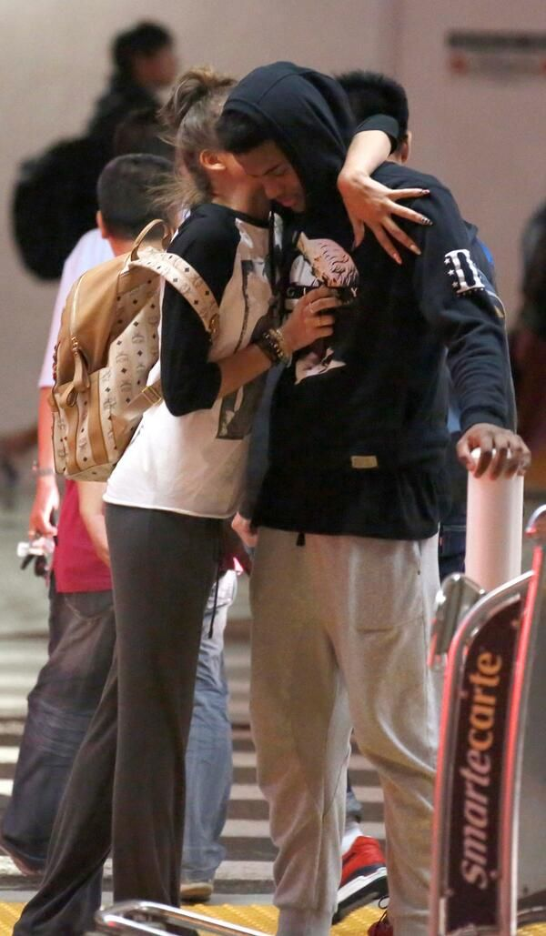 Zendaya with Trevor at LAX in Los Angeles (June 22nd) | OW ...  Zendaya with Tr...