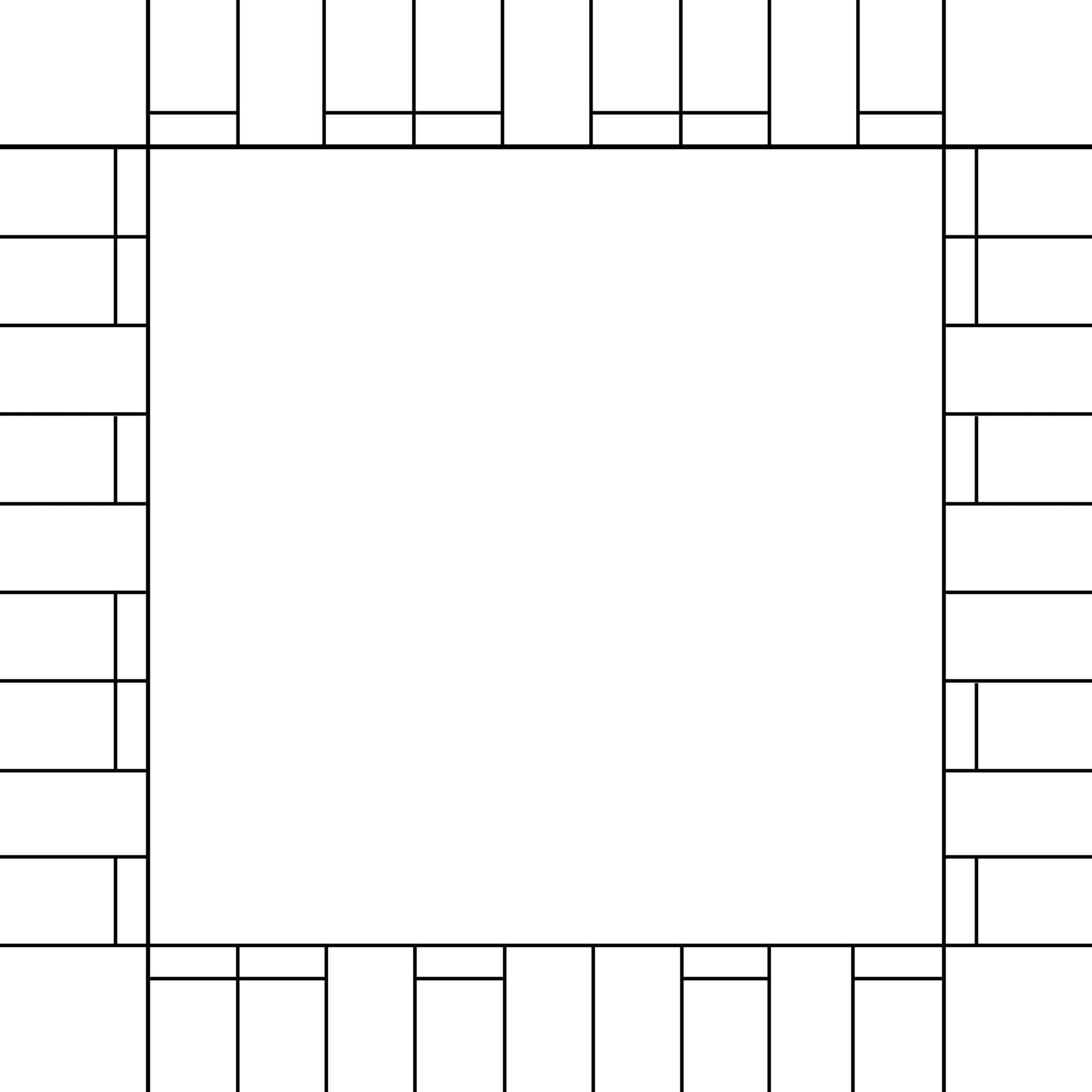 Printable Blank Monopoly Game Templates at