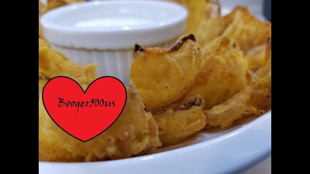 Fried blooming onion petals air fryer youtube blooming