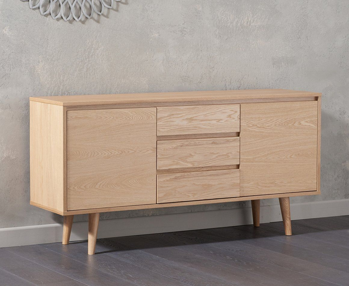 Mark Harris Newark 150cm Oak Sideboard Loungeliving Co Uk