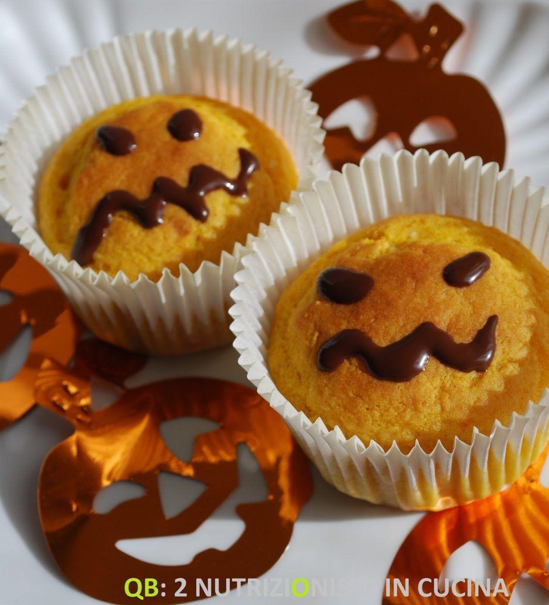Muffin di Halloween alla zucca Ricette light, Dolci