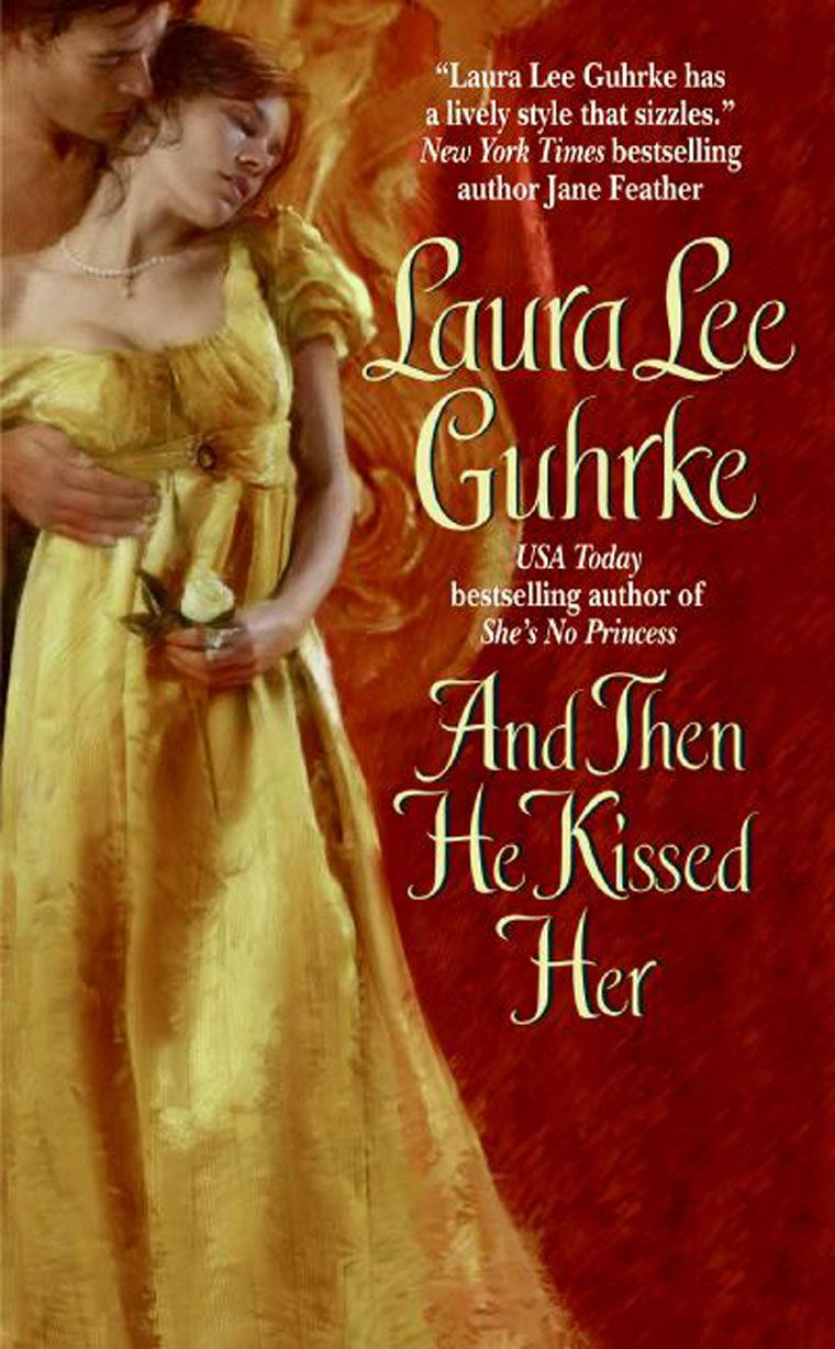 Laura Lee Guhrke - And Then He Kissed Her / #awordfromJoJo #HistoricalRomance #LauraLeeGuhrke
