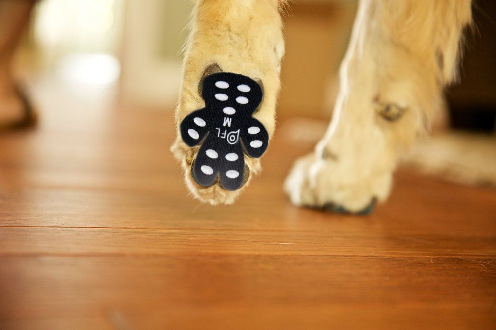 Pick For Life Dog Paw Protection Antislip Traction Pads With Grip 24 Pieces Self Adhesive Disposable Shoes Alte Paws