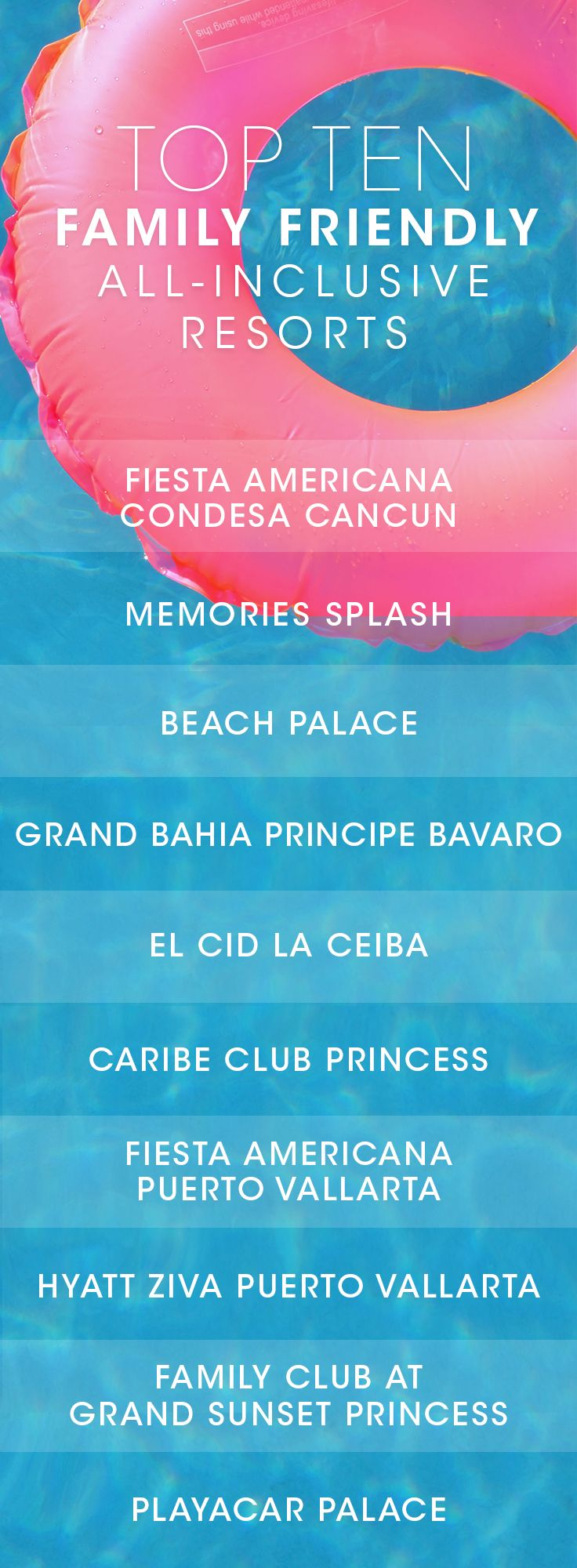 Family Vacations Kid Friendly All Inclusive Resorts