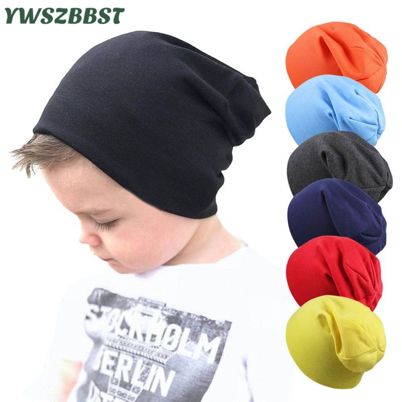 30d87f4fa New Baby Street Dance Hip Hop Hat Spring Autumn Baby Hat Scarf for Boys  Girls Knitted Cap Winter Warm Solid Color Children Hat(China)