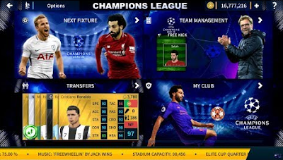 Dream League Soccer 2019 Mod 2020 Ucl Edition Champions League League Uefa Champions League