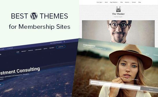 24 Best WordPress Themes for Membership Sites  Are you looking for the best WordPress themes for membership websites. Unlike blogs and business themes membership websites need a wide-variety of templates to use in different membership areas. In this article we have hand-picked some of the best WordPress themes for membership sites.  Making a Membership Website with WordPress  WordPress is the top website builder in terms of popularity and global usage.  There are two types of WordPress and…