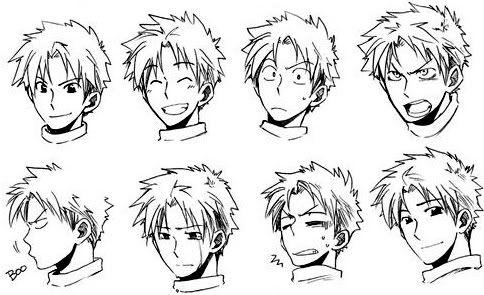Resultado de imagen para dibujar manga manga pinterest for Tipos de manga japones