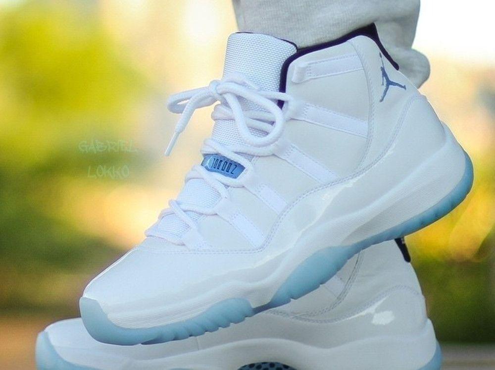 Air Jordan 11 Columbia (Legend Blue) Retro 2014 Nike