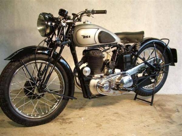 1941 Bsa M20 Classic Motorcycles Vintage Bikes Bsa