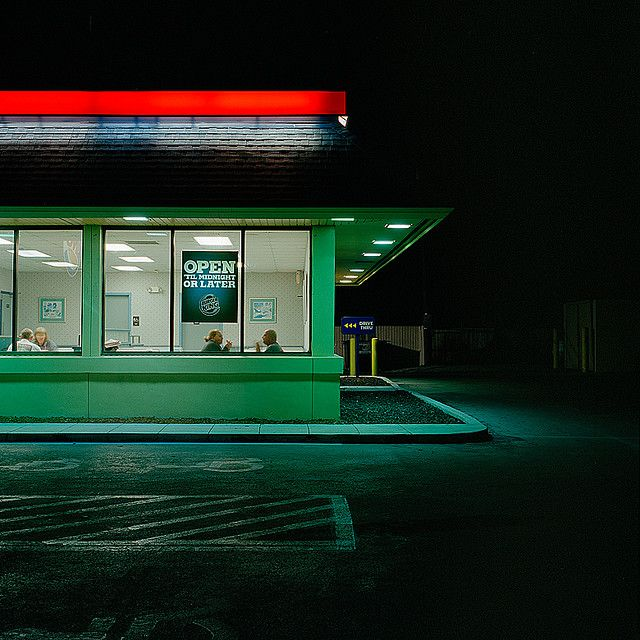 Johannes Huwe OPEN ´TIL MIDNIGHT OR LATER, 2008 like hopper