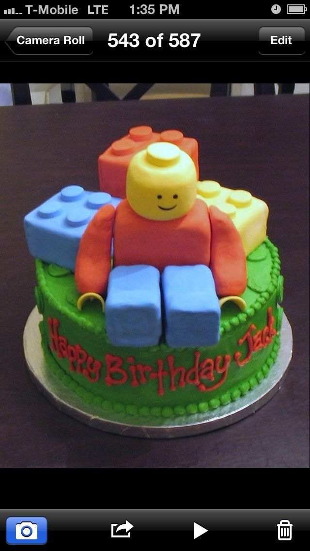 Awesome Adorable Lego Cake Food Pinterest Cake And Birthdays