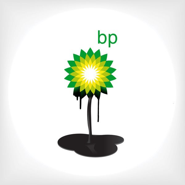 BP - Greenpeace logo by Anastasia Gerali, via Behance