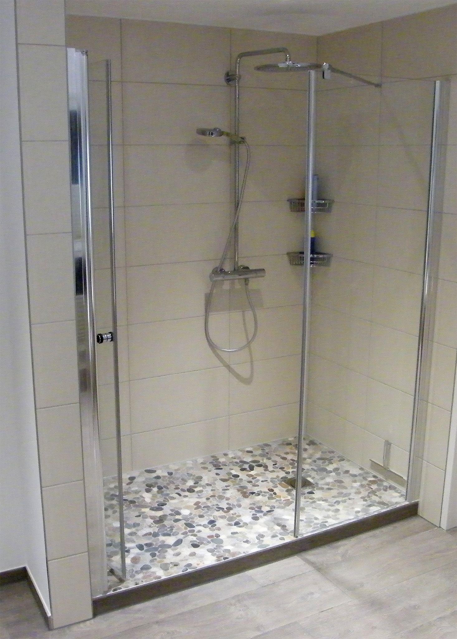 Wie Flusskiesel Dusche Verschonern Ideen Tipps Von Heimwohl Flusskiesel Dusche Badezimmerboden