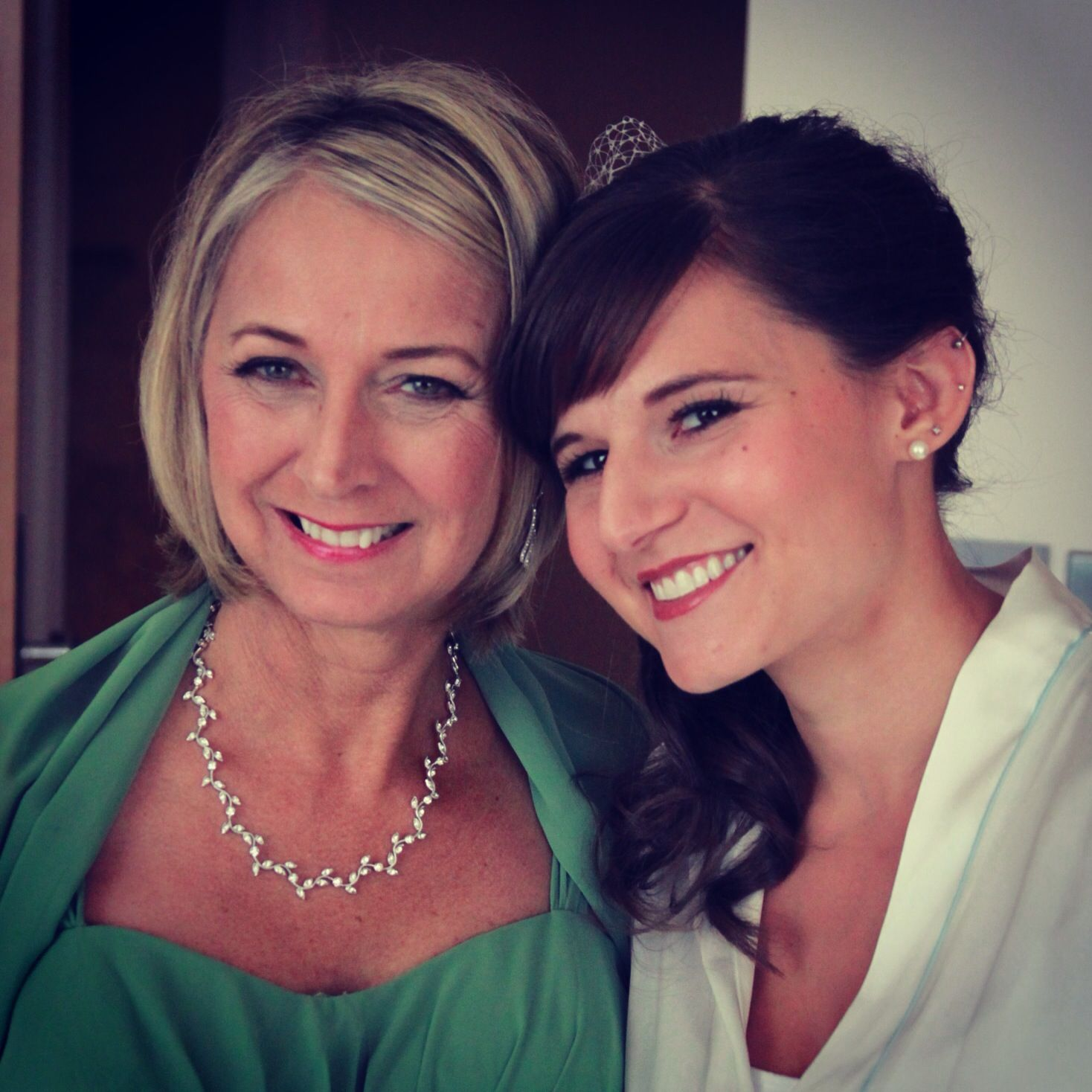 Makeup for bride and mother of the bride by KMT Beauty