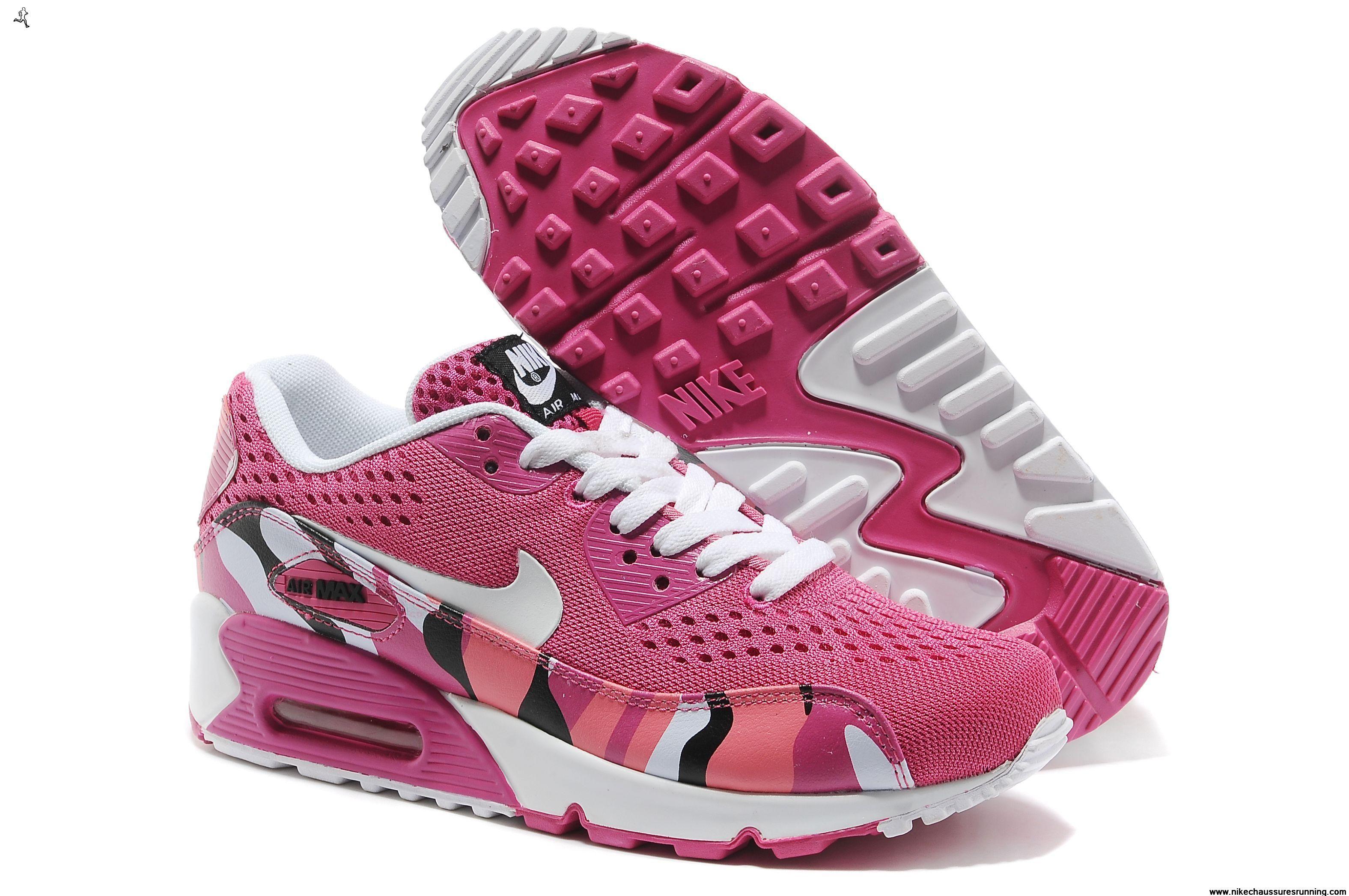Chaussures Weaving Deep Rose Nike Air Max 90 Premium EM