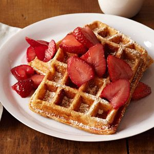 Hearty Waffles One Of Ten Hearty Breakfasts On The Family Circle Website Always Looking For Something With Som Best Waffle Recipe Waffle Recipes Food Recipes