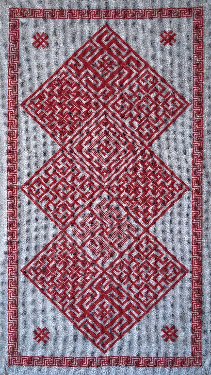 Smolensk embroidery