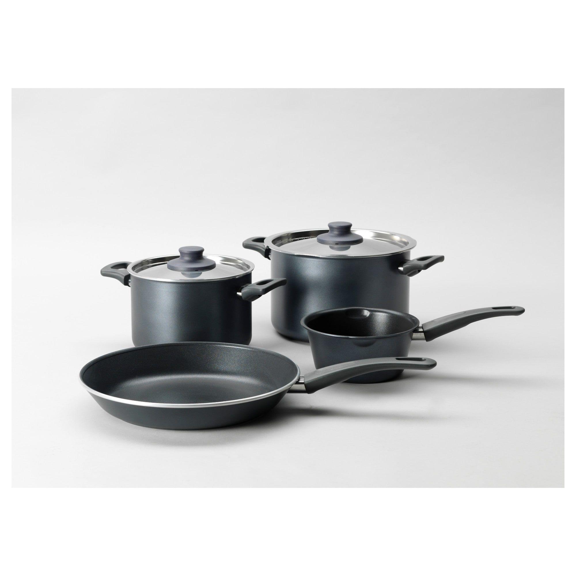 SkÄnka 6 Piece Cookware Set Gray Products In 2019