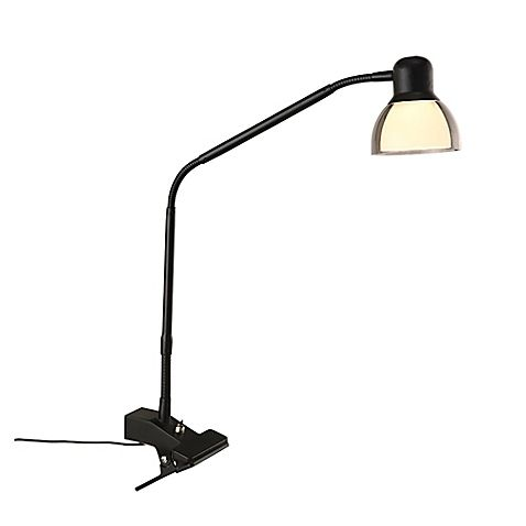 Studio 3b Functional Led Clip Lamp In Matte Black Clip Lamp