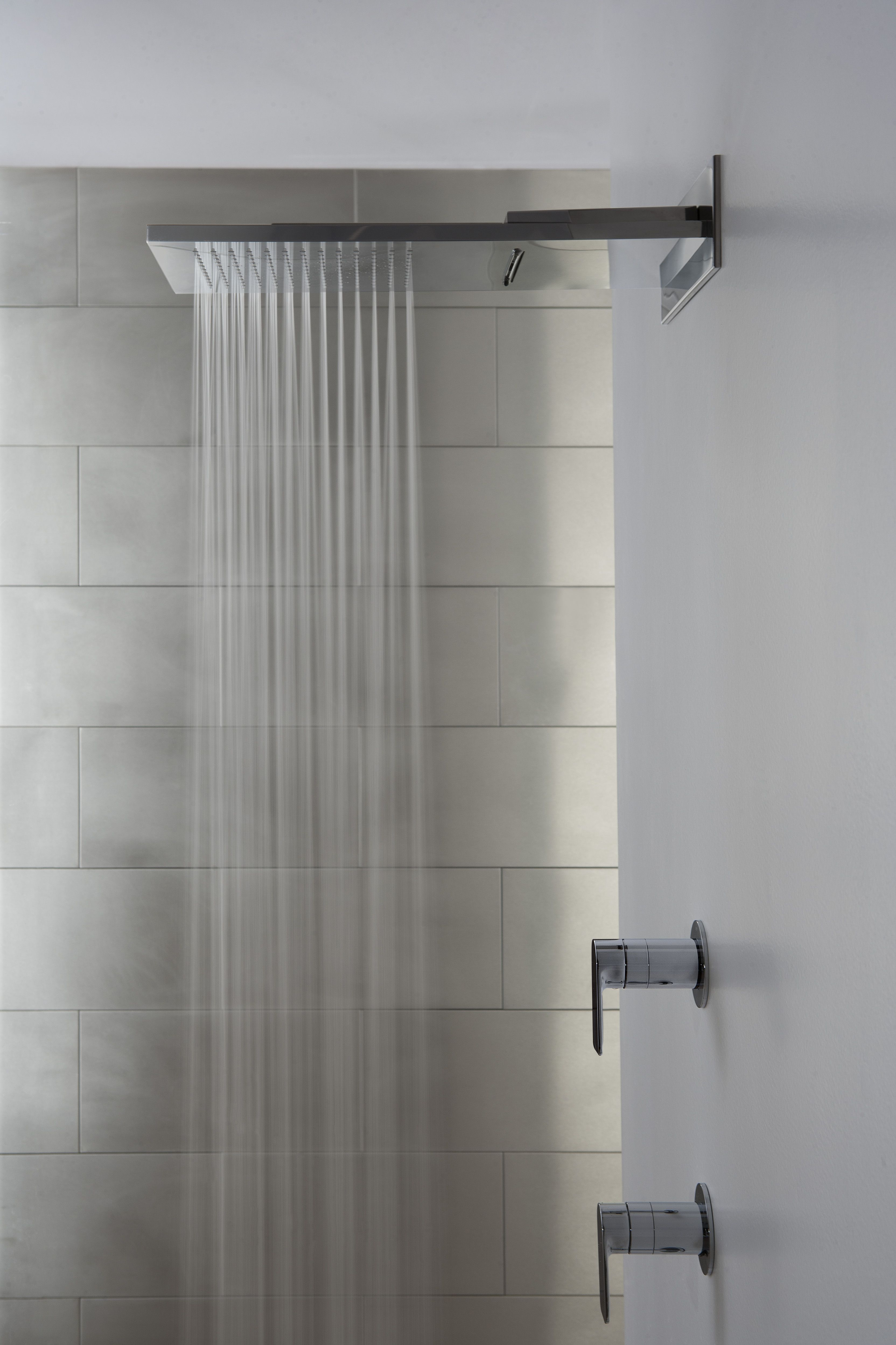 Marvelous Your Very Own Waterfall, With GRAFF Aqua Sense Wall Mounted Water Feature