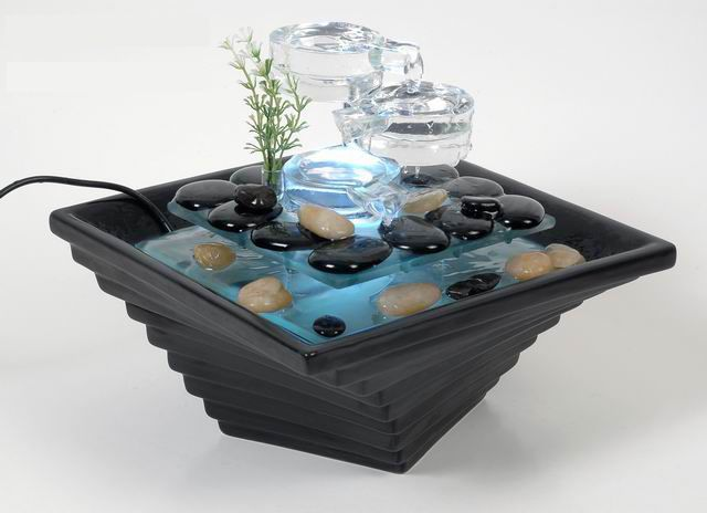 Stunning Tabletop Water Fountains Indoor Images - Interior Design ...