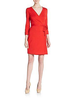 New Julian Wrap Dress - SaksOff5th