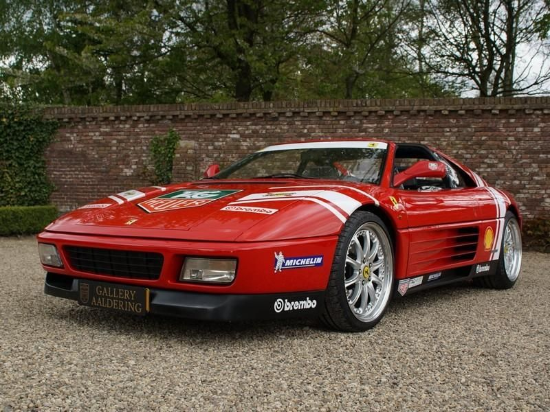 Salvage 1995 Ferrari 348 Spider Convertible For Sale Salvage
