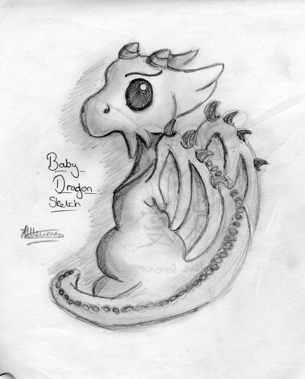 Dibujo De Un Dragon Dibujos Dragones Ilustraciones