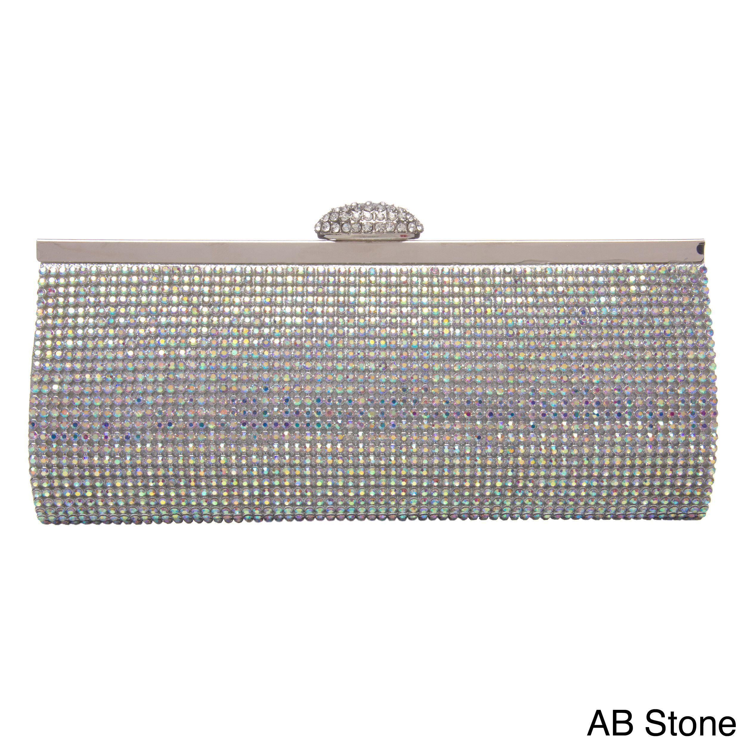 163a610dea J. Furmani Women s Fully Crystal Evening Bag (AB Stone)