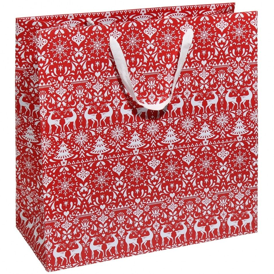 scandi extra large christmas gift bag