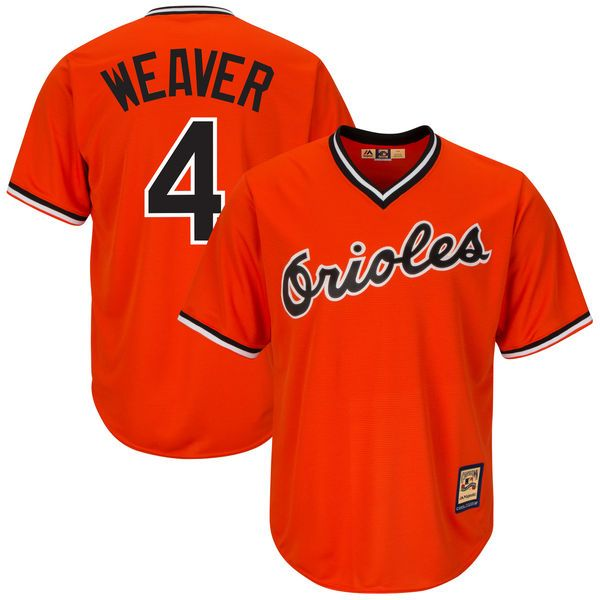adfc5ba8f Earl Weaver Baltimore Orioles Majestic Cool Base Cooperstown Player Jersey  - Orange -  119.99