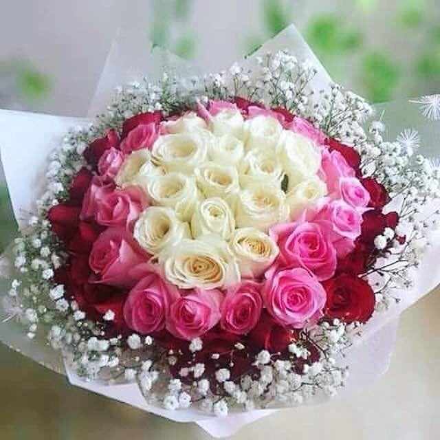 Hand Bouquet Bekasi Toko Bunga Bunga Mawar Pink