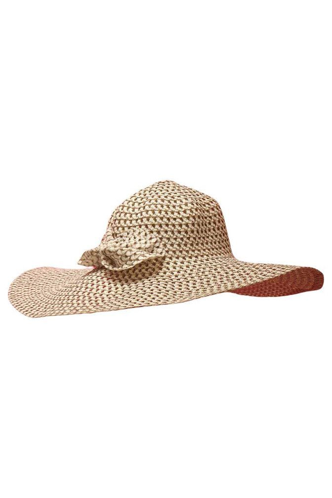 Wide Brim Floppy Hat With Bow | Sombreros y gorros | Pinterest | Tejido