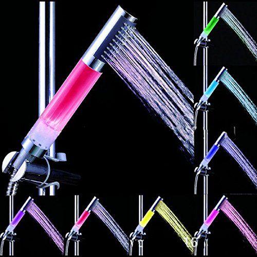 Sikye LED Light Shower7 Color Gradual Change Bathroom