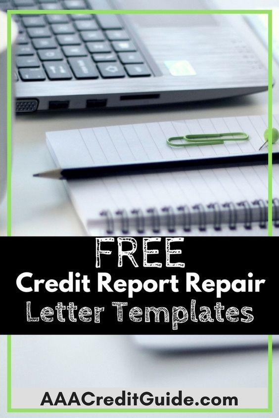 Free Credit Repair Sample Letters for 2017 Credit bureau - sample credit report