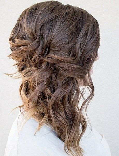 Side Swept Splendor Medium Length Hair Up Medium Hair Styles Medium Length Hair Styles