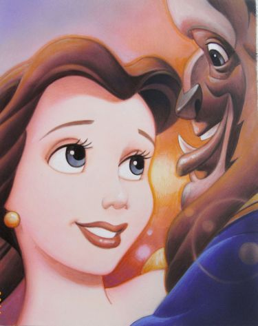 Smile Belle And Beast By Tsuneo Sanda Bela