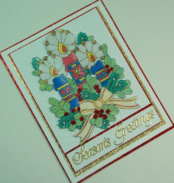 Christmas Card, Holiday Card, Unique Christmas Card, Unique Holiday