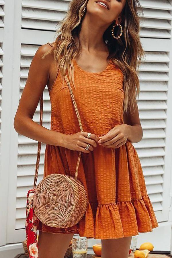 Photo of Abiti casual #summerdresses? SPECIFICHE: Prodotto? Nome Sexy Orang …