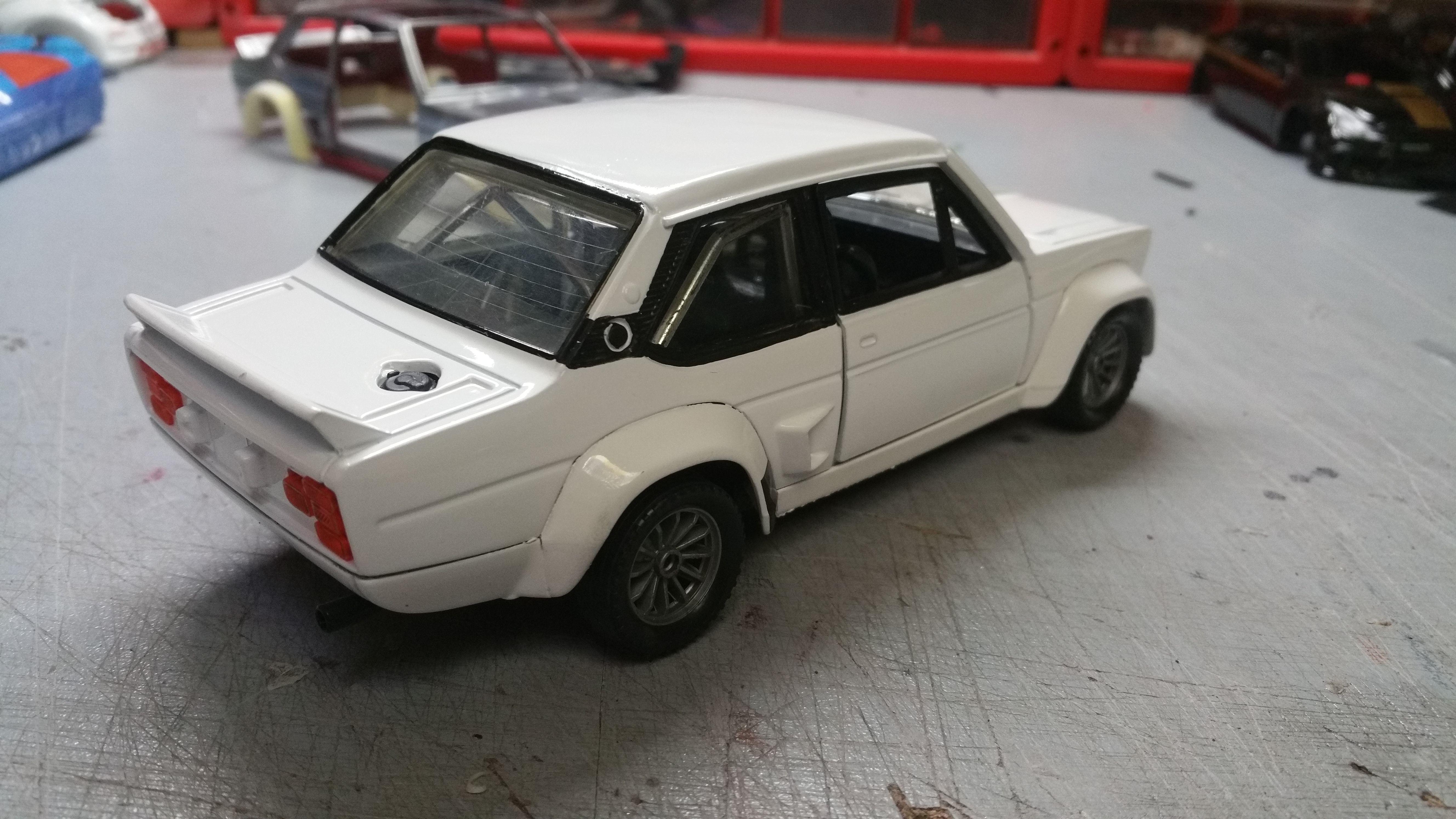 Fiat 131 Abarth Burago 1 24 By Caselli Model