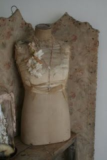 shabby dress form