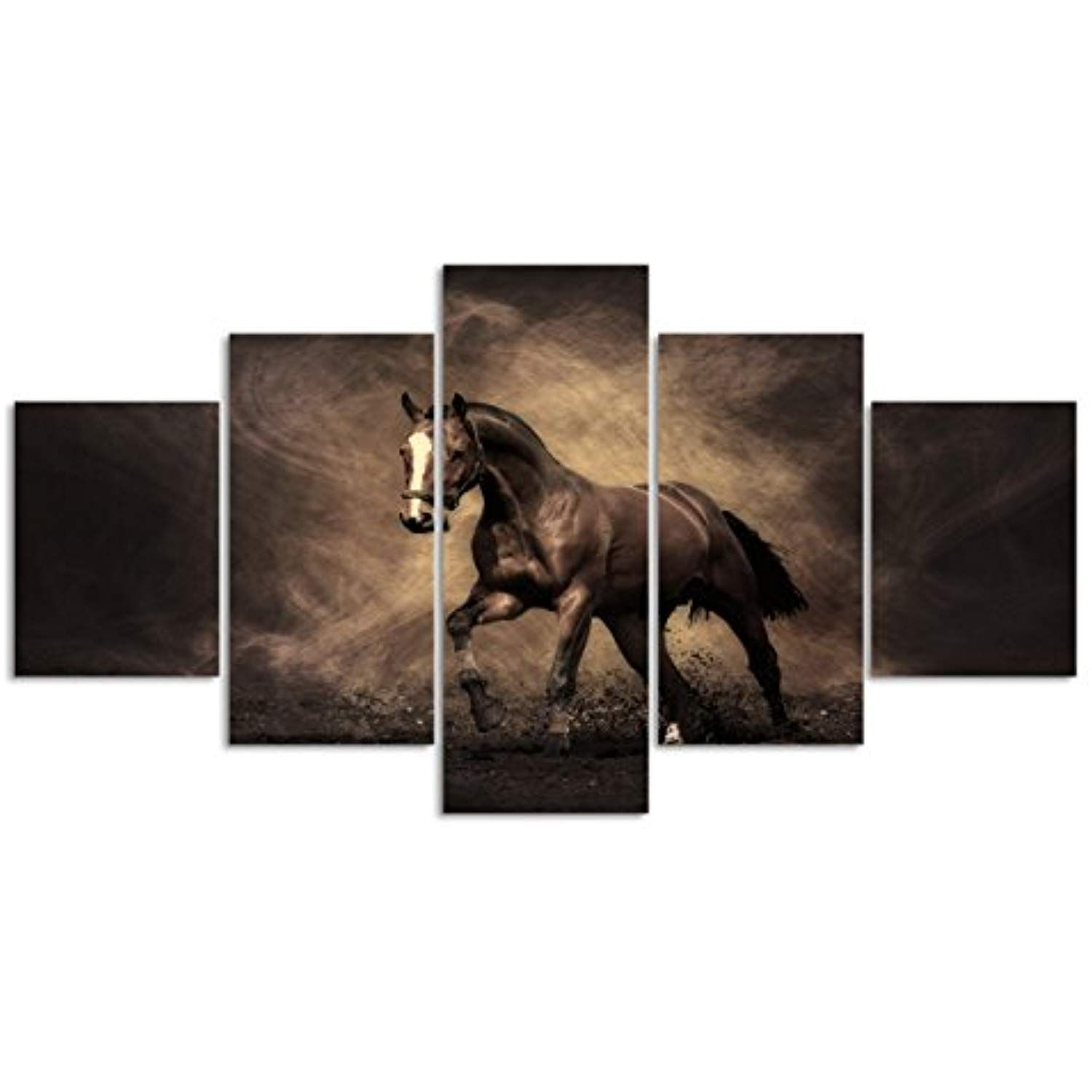 Animal paintings horse wall art home decor painting for living room